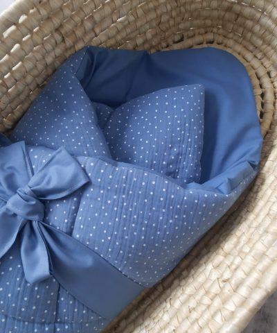 Rożek muślin / bawełna jeans